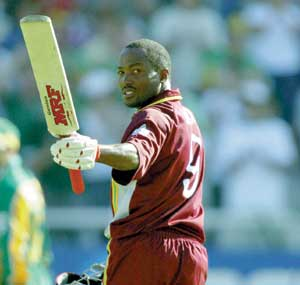Brian Lara - famous left handed cricketer