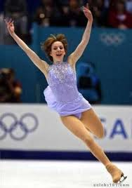 sarah hughes - famous leftie and figure skater