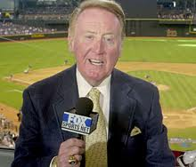 Vin Scully - famouslefties.com