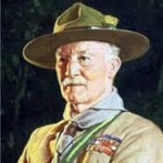 Lord Baden-Powell - famouslefties.com