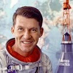 Wally Schirra - famouslefties.com